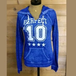 """🔥🔥Hard Candy """"Perfect 10"""" Hoodie Jersey Top"""